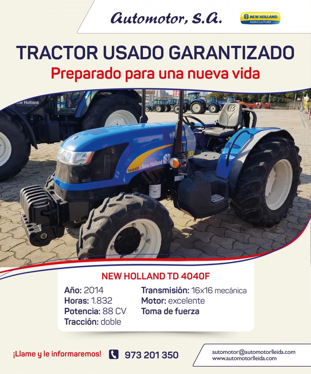 OFERTA NEW HOLLAND TD4040F