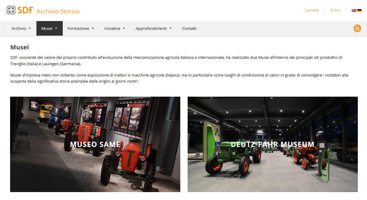 El Archivo Histórico de SDF publica el nuevo sitio web dedicado a mantener el legado de las marcas de la empresa