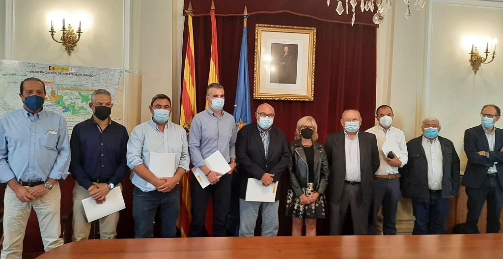 El Ministerio de Agricultura, Pesca y Alimentación financia obras de modernización de regadíos en Aragón por valor de 82 millones de euros