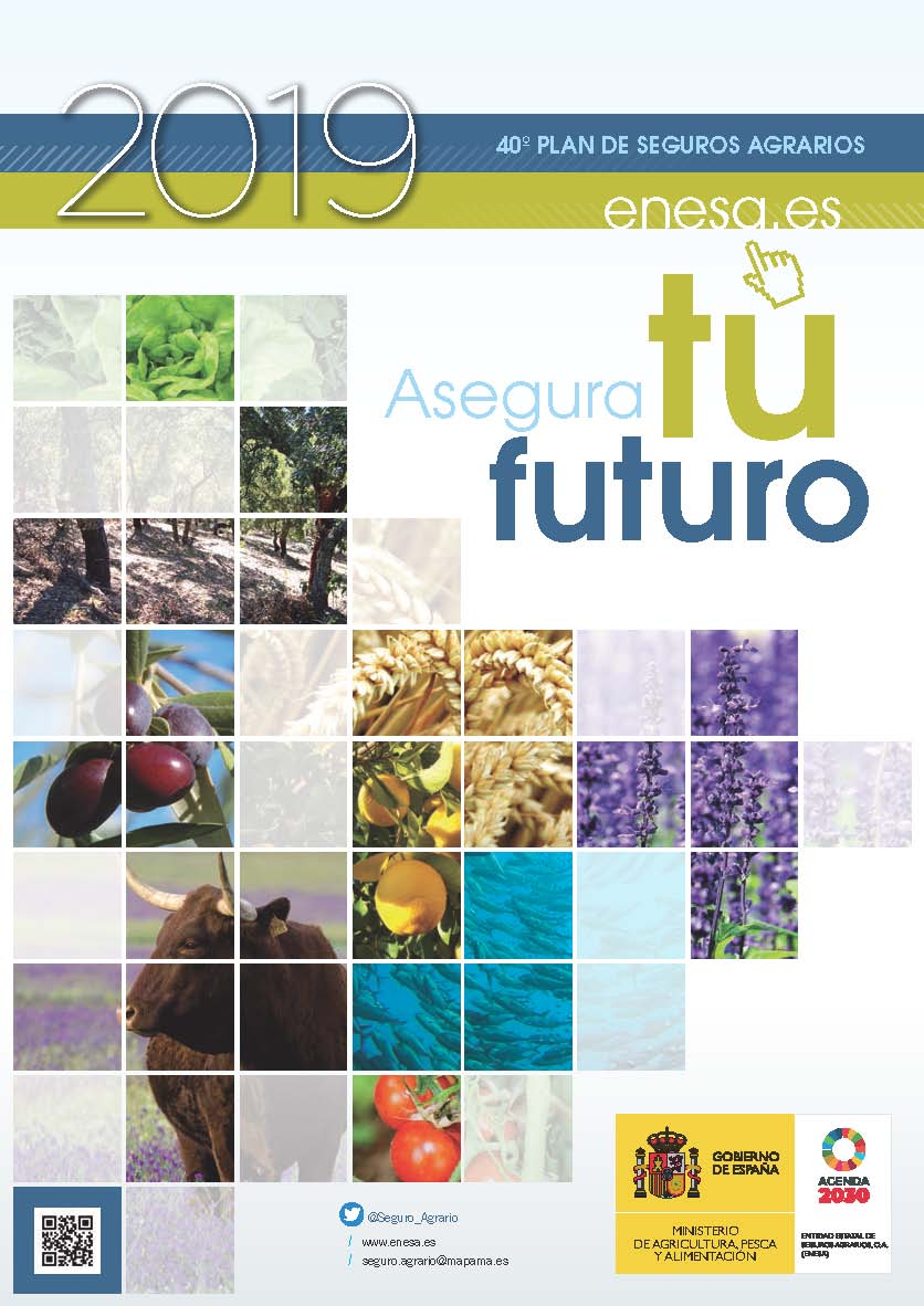 El Ministerio de Agricultura, Pesca y Alimentación publica la Guía del Seguro Agrario para el año 2019