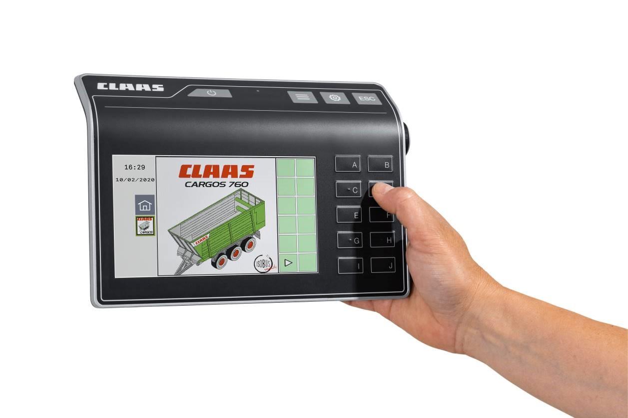 El nuevo CEMIS 700 para aplicaciones ISOBUS*. - 0