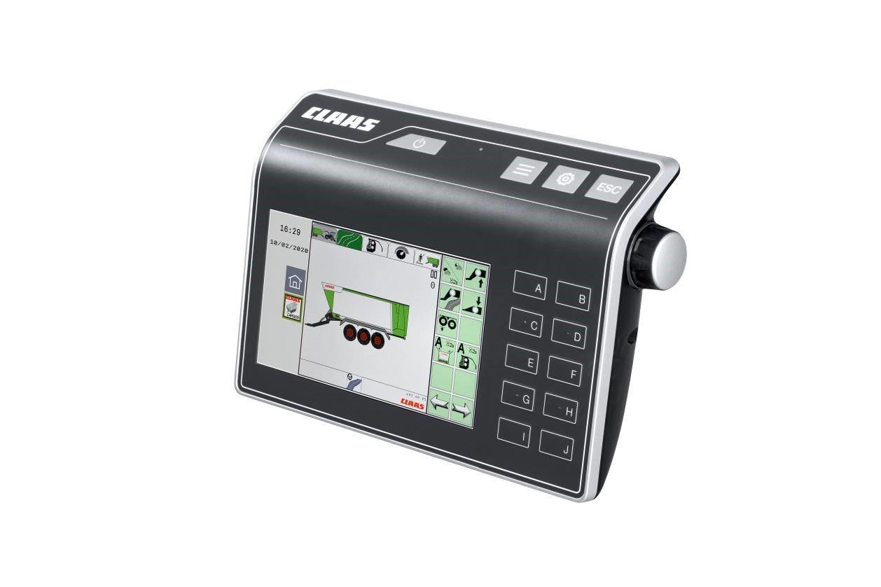 El nuevo CEMIS 700 para aplicaciones ISOBUS*. - 1