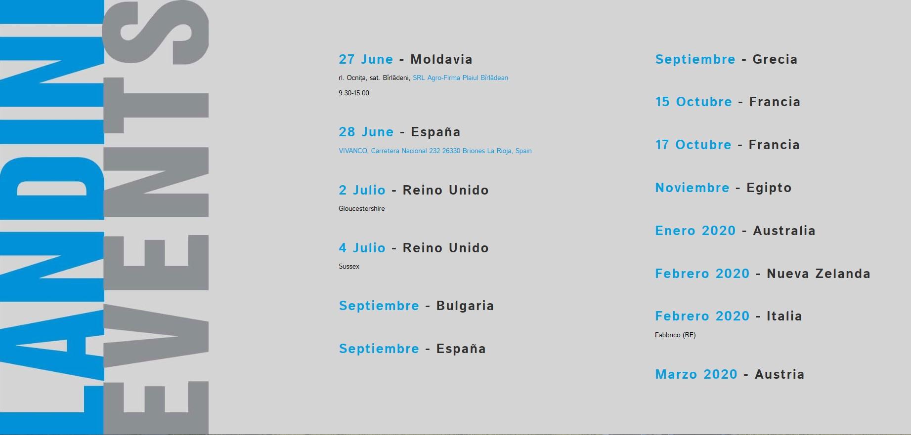 El tour Landini REXperience llega a España - 1