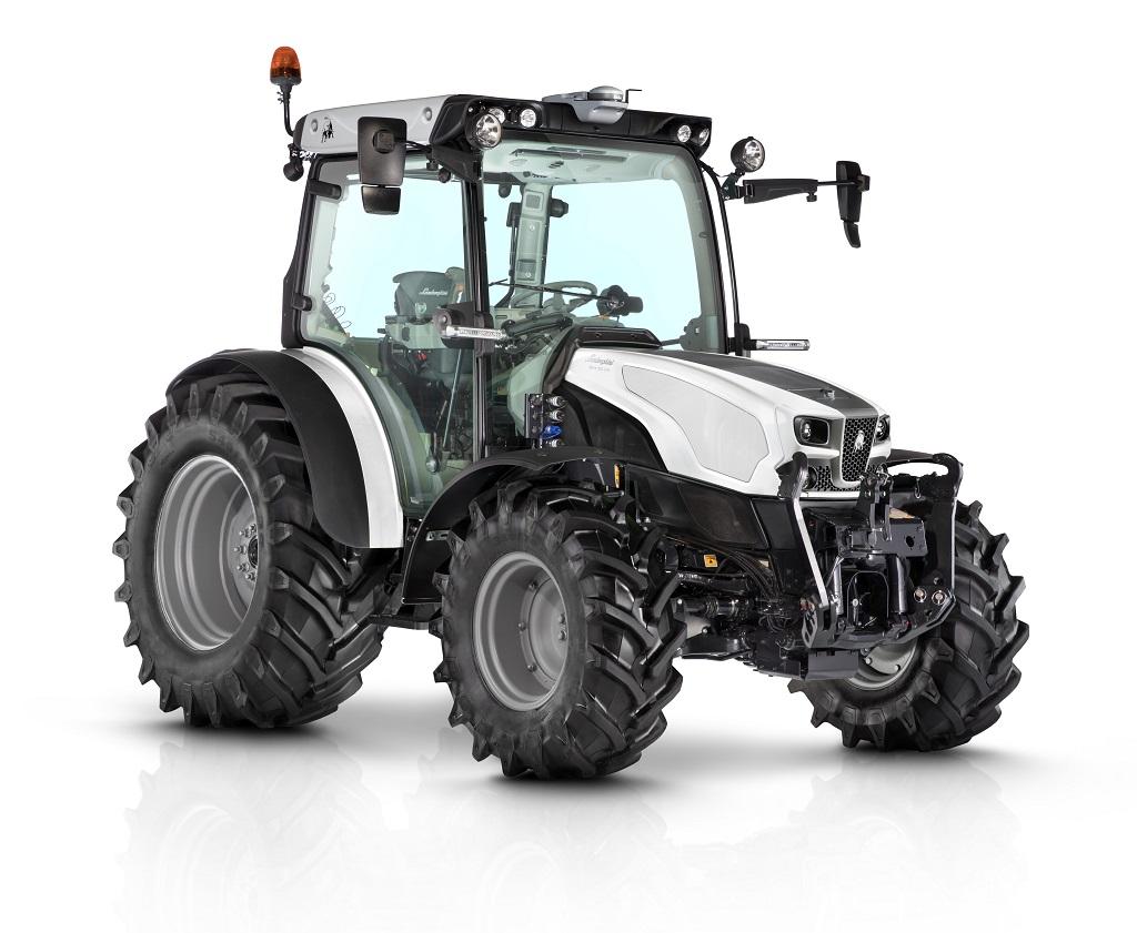 El tractor multiusos que brilla por su tecnología y elegancia.