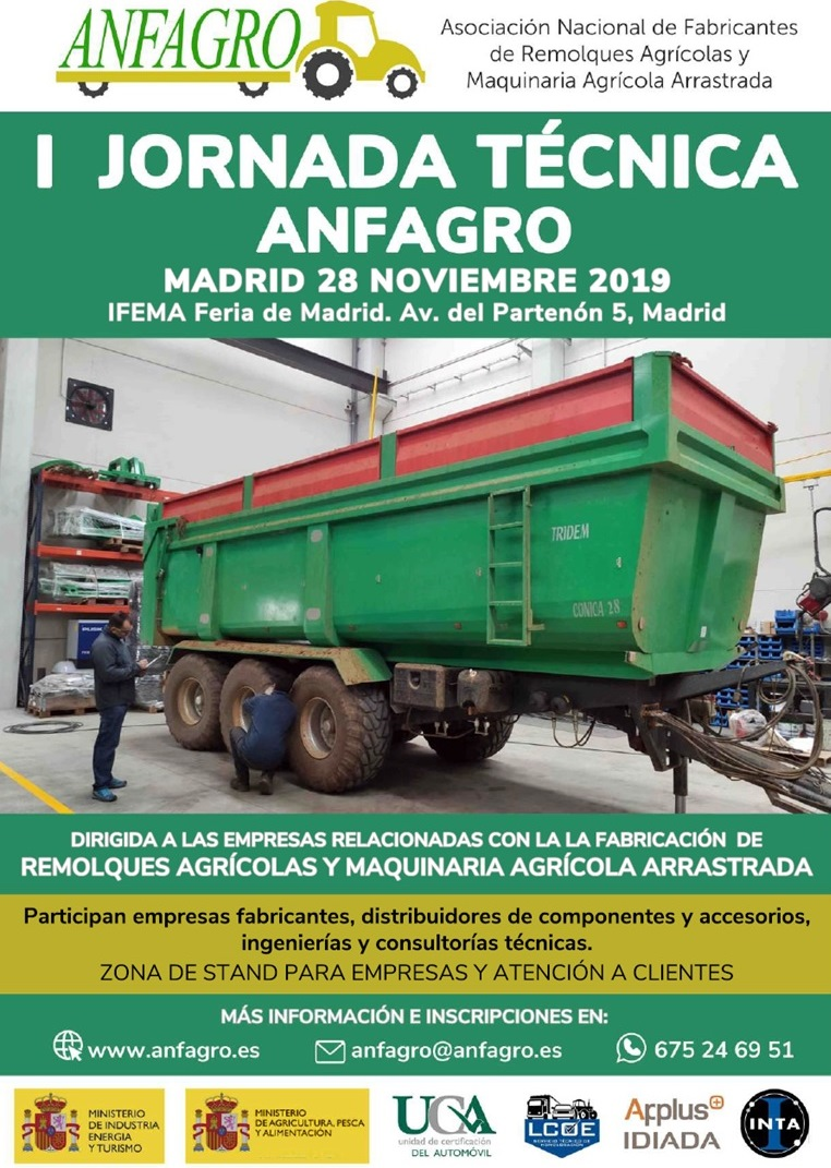 I JORNADA TÉCNICA organizada por ANFAGRO. - 0