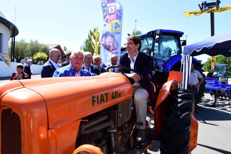 Inaguración de la Feria del Sector Agropecuario y la 31 Exposición Internacional de Ganado Puro, Salamaq 19 - 1