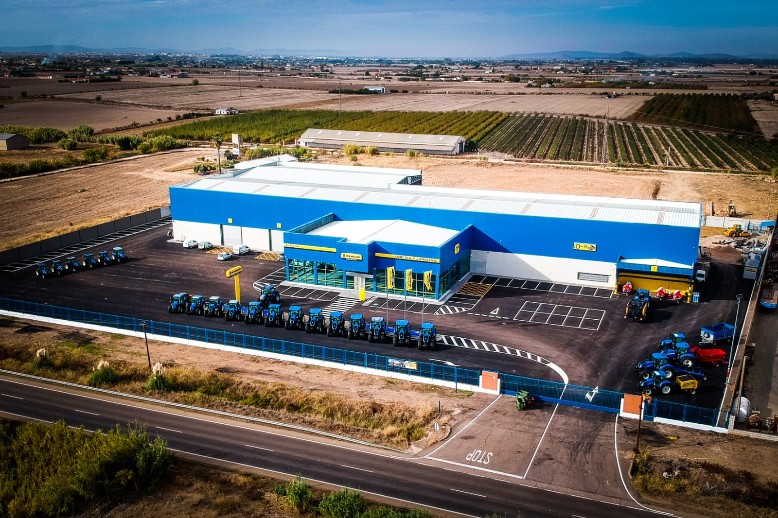 Inauguración nuevas instalaciones de Agrivisa en Villanueva de la Serena (Badajoz)