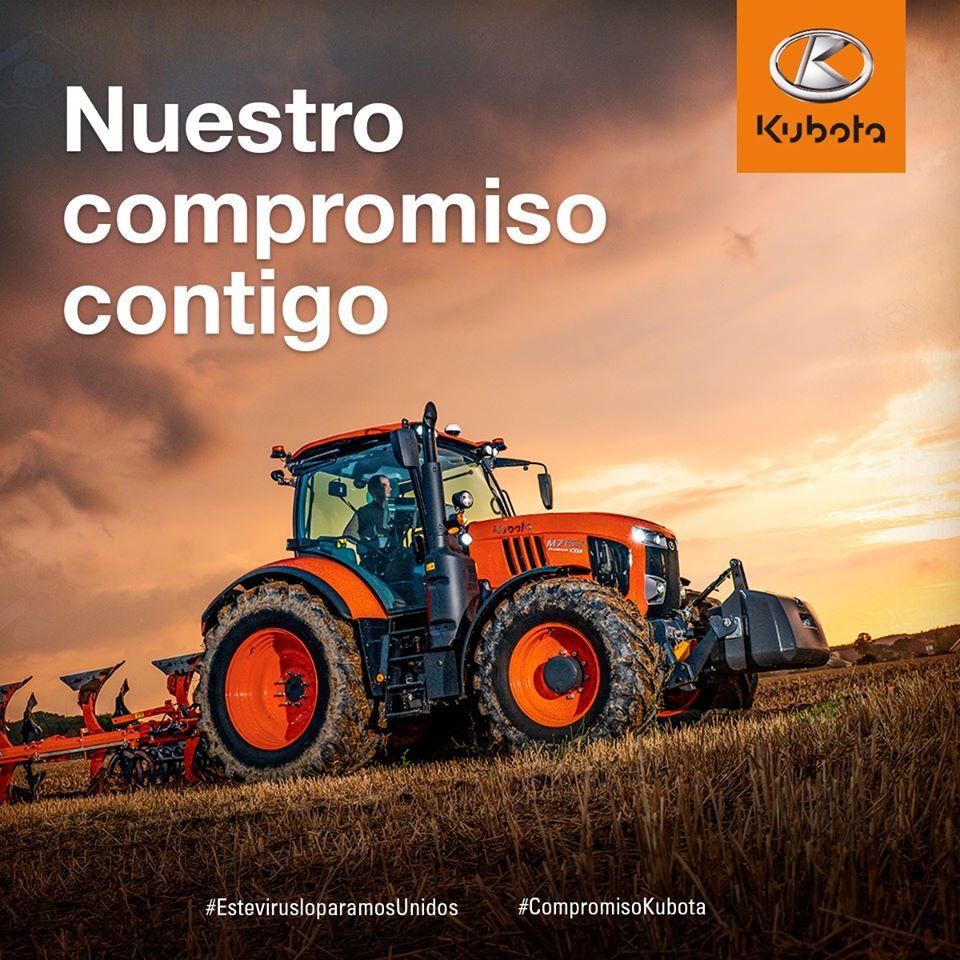Kubota España muestra su compromiso con los agricultores y ganaderos del país.