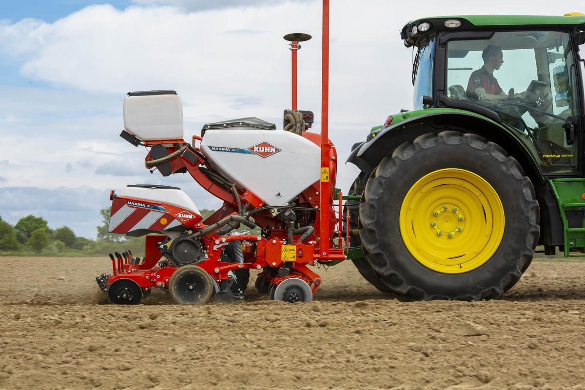 Kuhn Maxima 3, la sembradora monograno personalizable para cada agricultor - 1