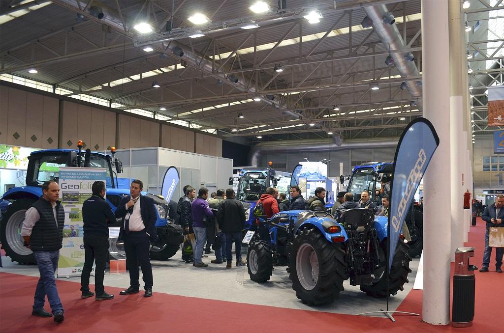 Landini afianza su imagen de tractor especialista con su presencia en Agrovid - 2