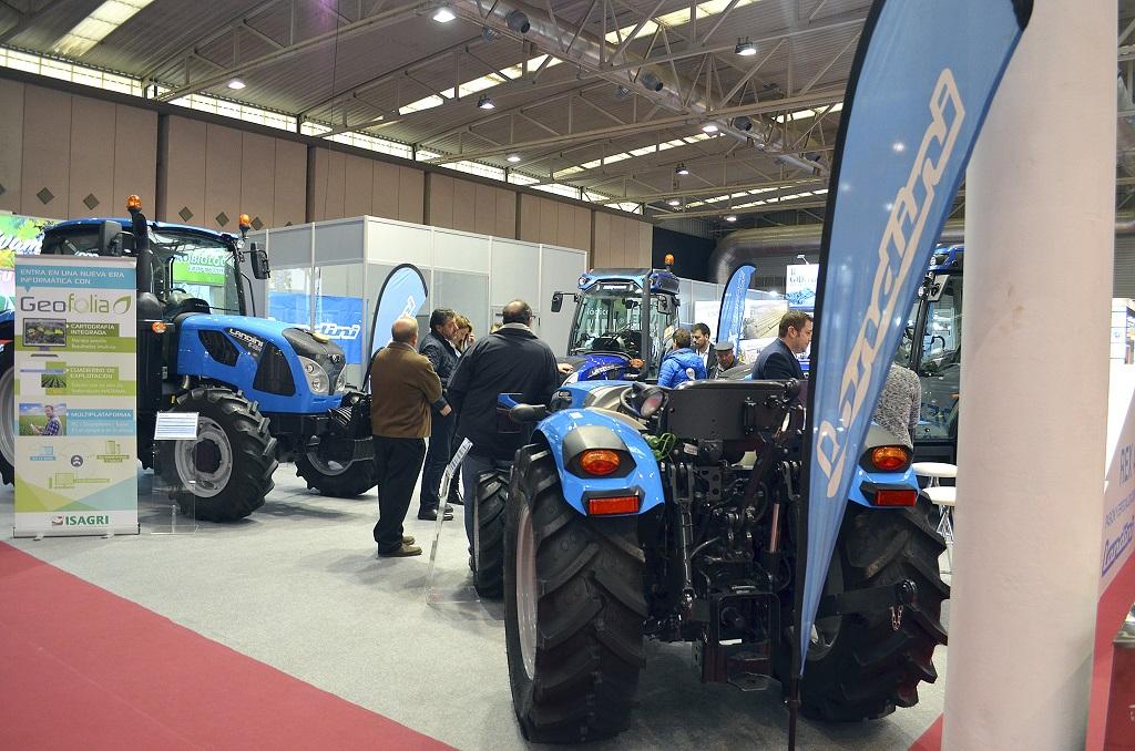 Landini afianza su imagen de tractor especialista con su presencia en Agrovid - 0