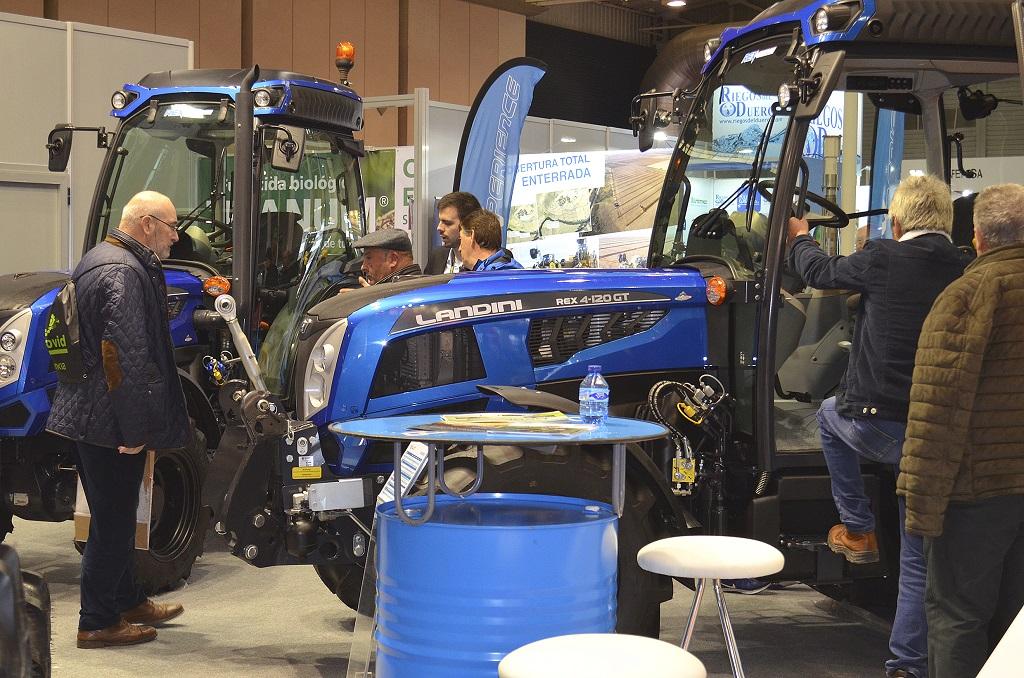 Landini afianza su imagen de tractor especialista con su presencia en Agrovid - 3