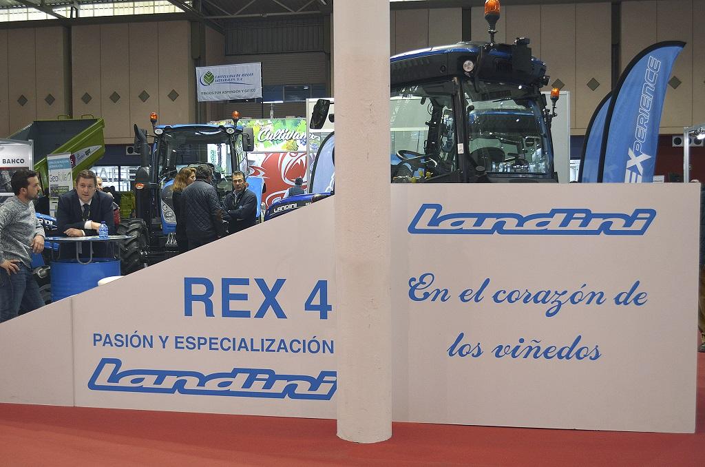 Landini afianza su imagen de tractor especialista con su presencia en Agrovid - 4
