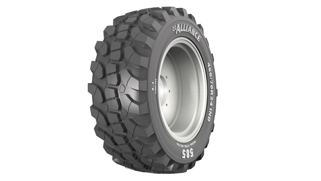 Los neumáticos Alliance 585 se convierten en una opción de fábrica para los manipuladores telescópicos Manitou MLT NewAg. - 0