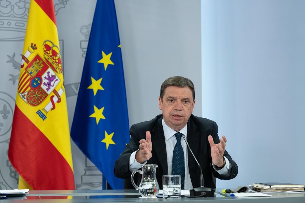 Luis Planas: El Gobierno cumple el objetivo de mantener el presupuesto para agricultores y ganaderos en la próxima PAC