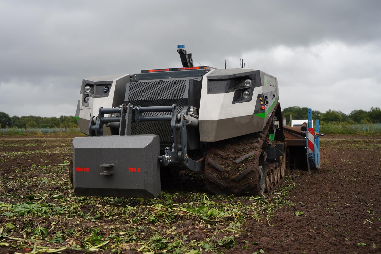 Máquinas agrícolas autónomas