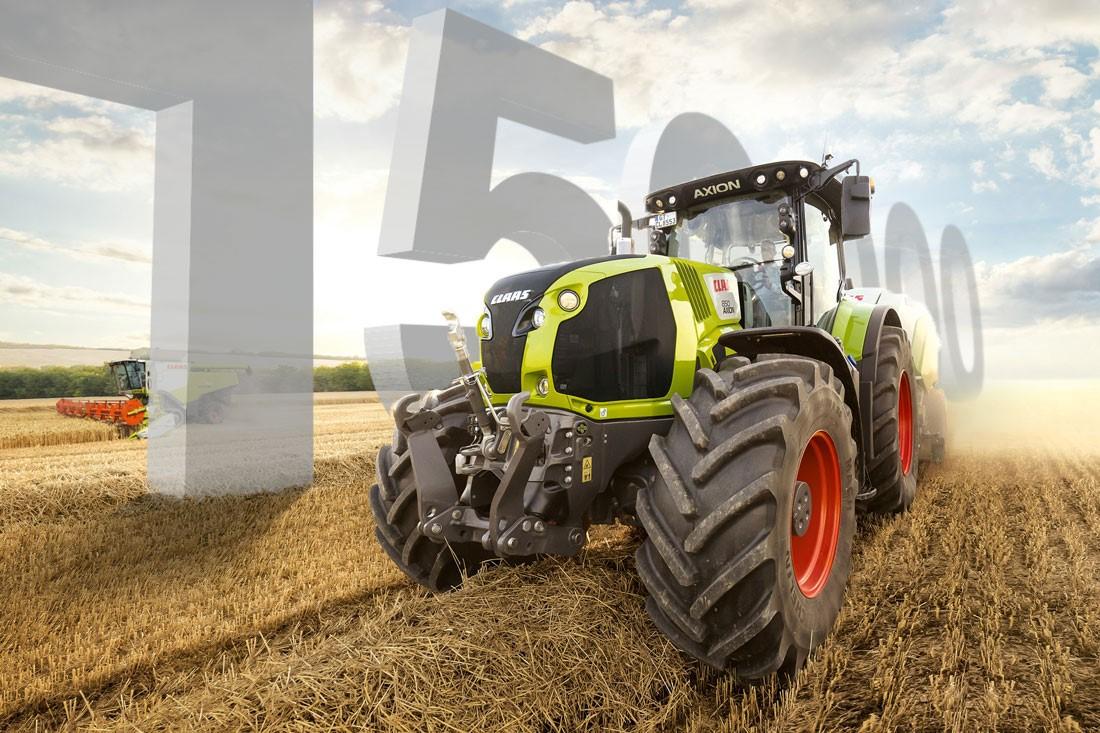 Más de 150.000 tractores CLAAS fabricados en 15 años