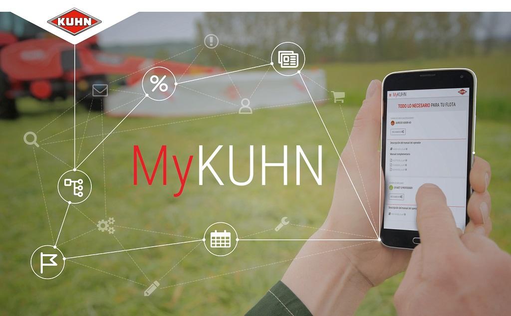 MyKUHN: la web que permite al cliente de Kuhn pedir recambios sin salir de casa - 0