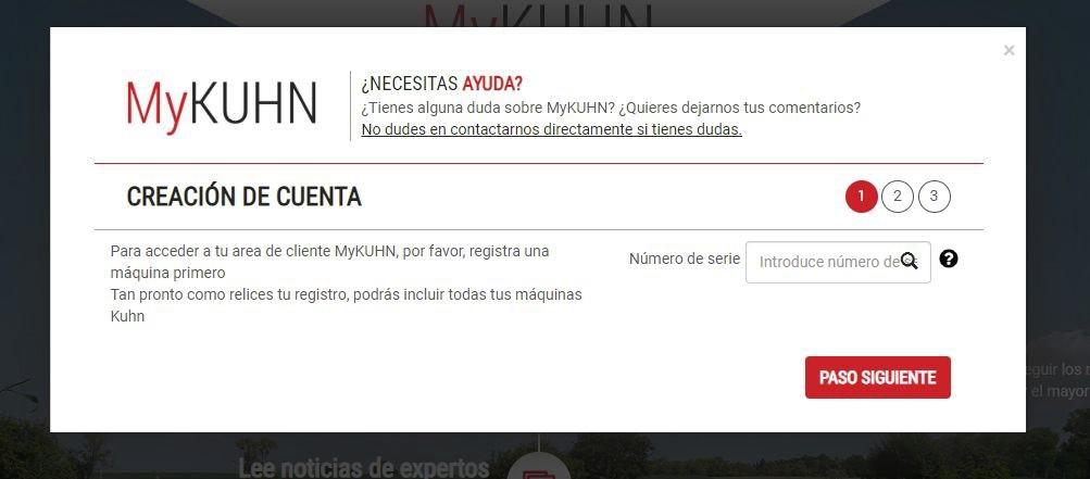 MyKUHN: la web que permite al cliente de Kuhn pedir recambios sin salir de casa - 2