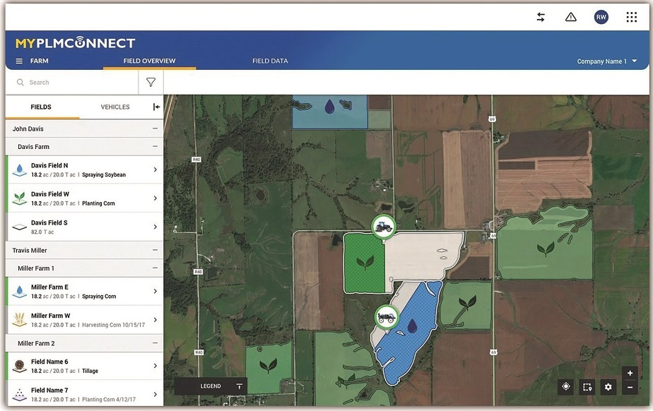 New Holland anuncia actualizaciones en la plataforma MyPLM Connect Farm.