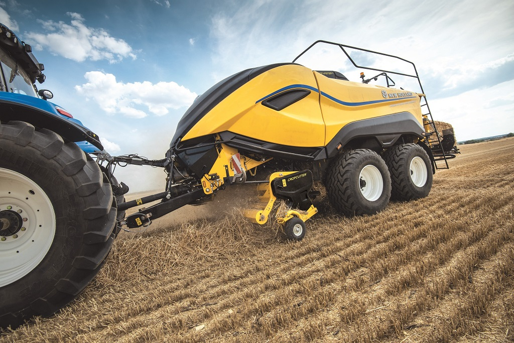 New Holland BigBaler 1290 High Density ofrece la máxima eficiencia y productividad