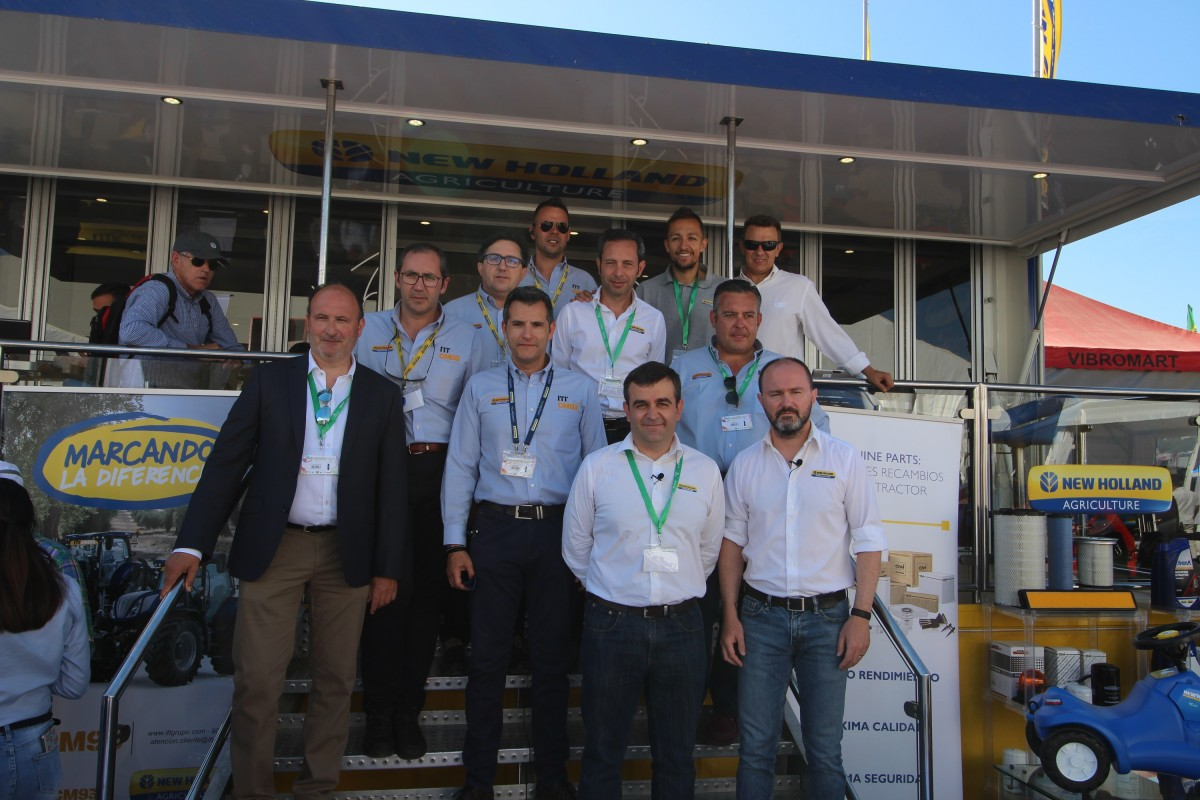 New Holland destaca en EXPOLIVA 2019