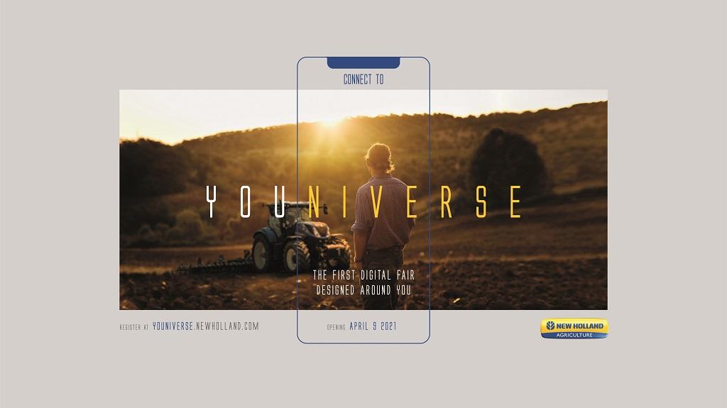 New Holland invita a los agricultores a una experiencia inmersiva en la feria agrícola digital YOUNIVERSE .
