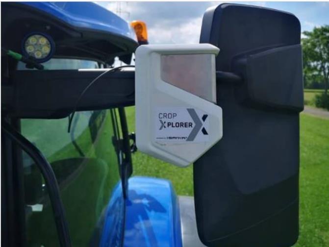 New Holland presenta NUEVO sensor CROP EXPLORER