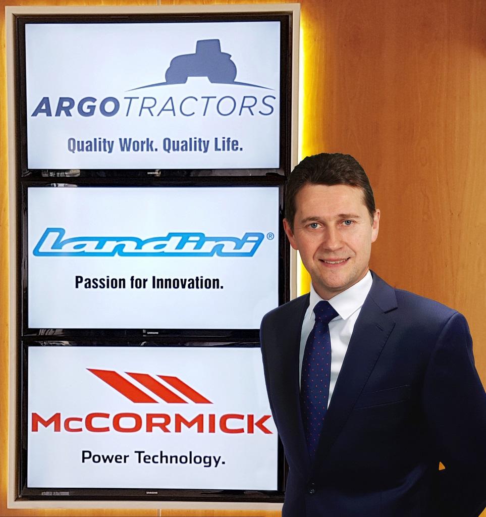 Nuevo director general de la filial alemana de Argo Tractors