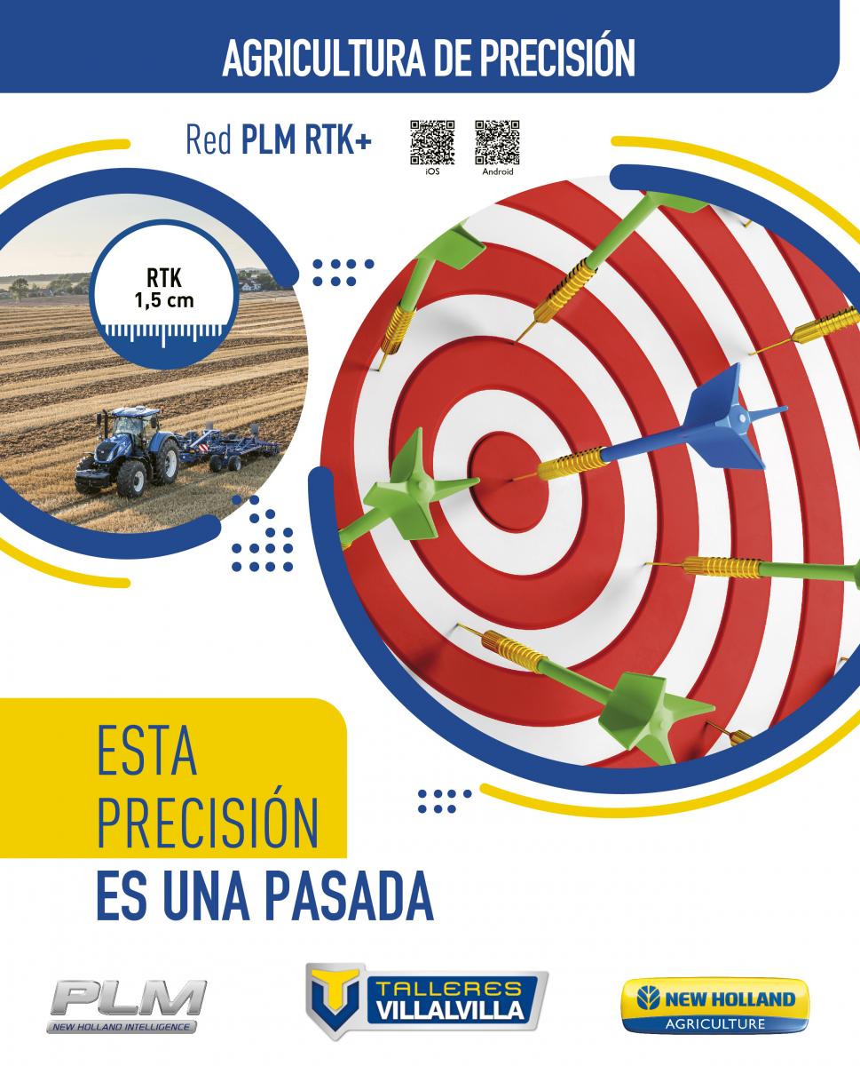 PLM RTK+ - ESTA PRECISIÓN ES UNA PASADA