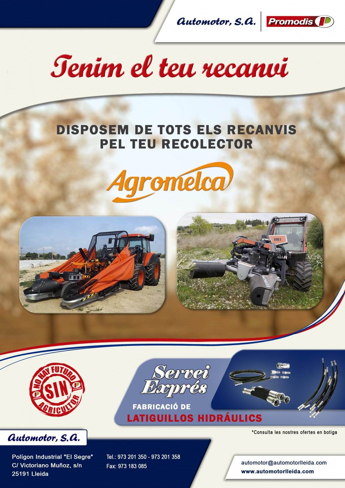 PROMOCIÓN RECAMBIOS AGROMELCA