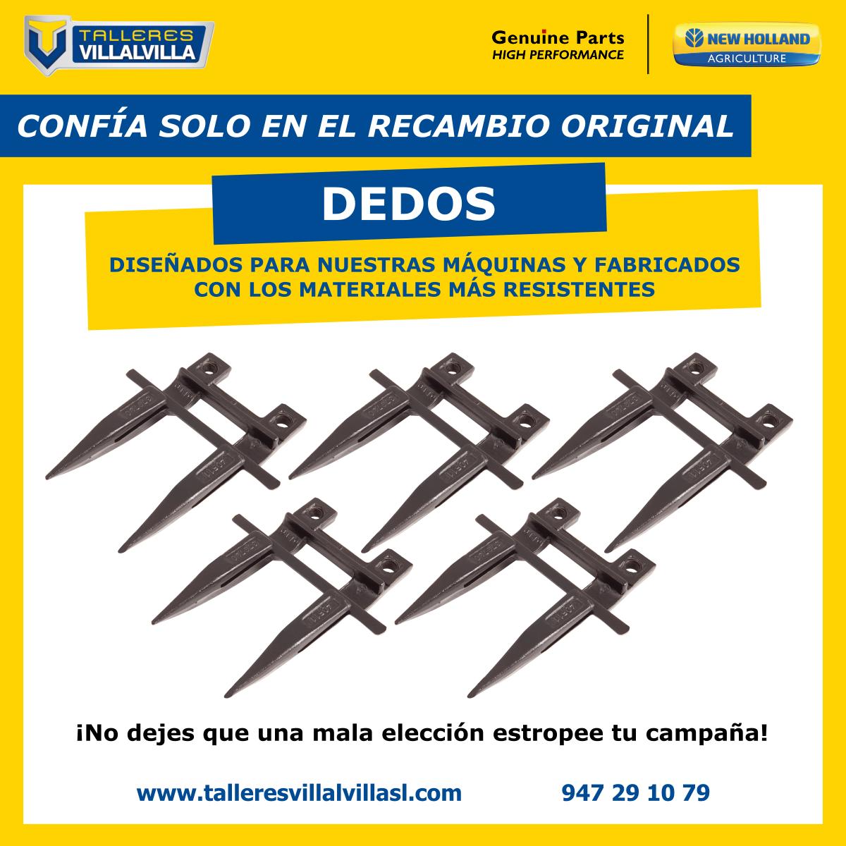 RECAMBIO ORIGINAL – DEDOS DE CORTE