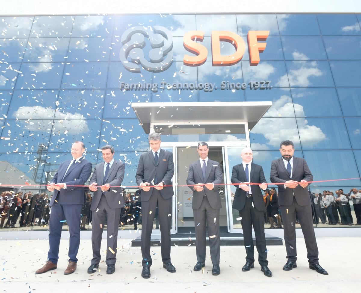 SDF inaugura nuevas líneas de producción en su fábrica de Turquía