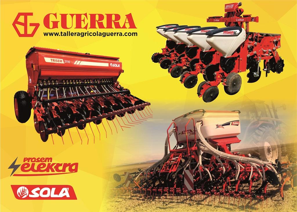Taller Agrícola Guerra, se consolida como distribuidor de la marca Solà - 0