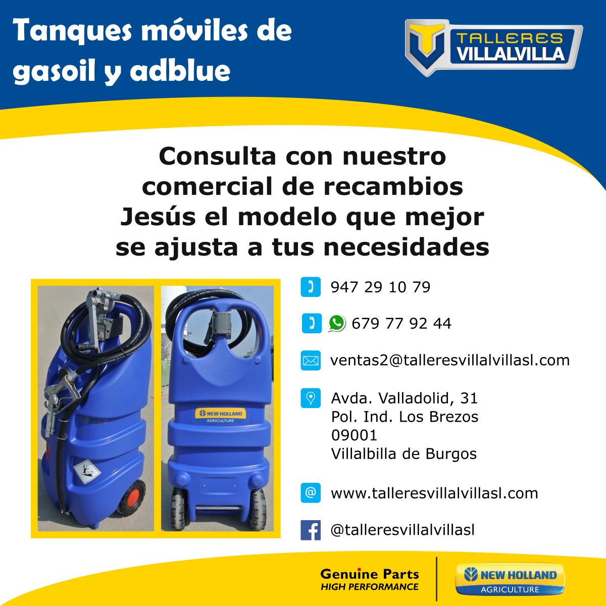 TANQUES MÓVILES DE GASOIL Y ADBLUE