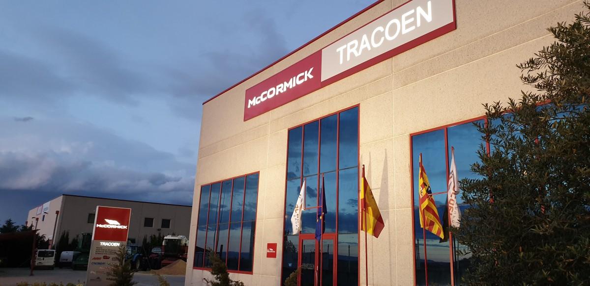 TRACOEN IMPORT EXPORT, S.L. nuevo concesionario McCormick en Zaragoza - 0