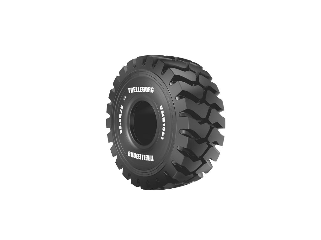 Trelleborg amplía la gama de neumáticos radiales EMR para palas cargadoras y dumpers. - 2