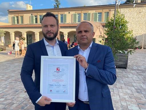 Trelleborg reconocida como mejor empleador en la República Checa