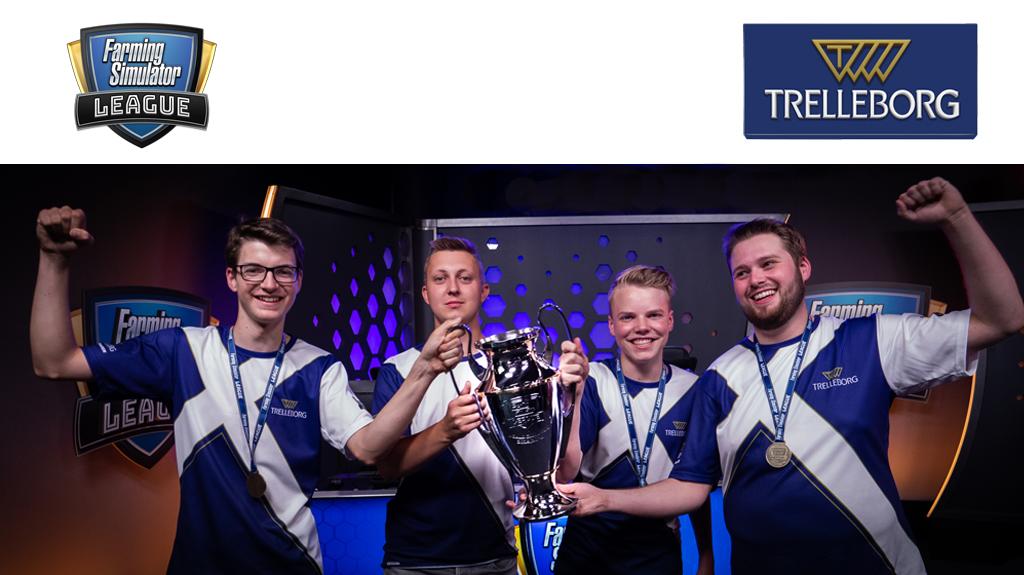 Trelleborg triunfa en el campeonato mundial de la temporada 2 de Farming Simulator League