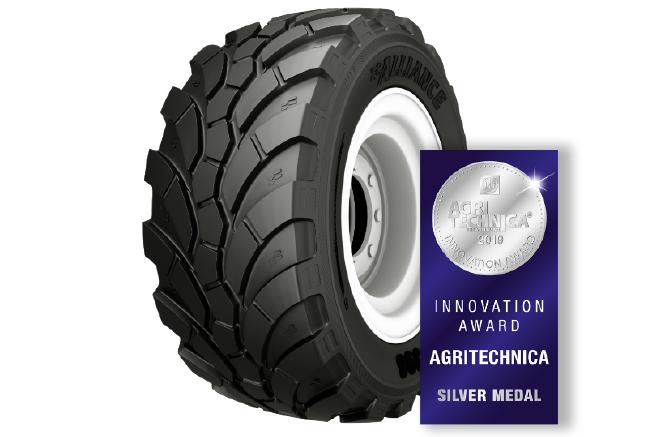 Un neumático de ALLIANCE galardonado con el premio a la innovación de Agritechnica (Agritechnica Innovation Award) - 0