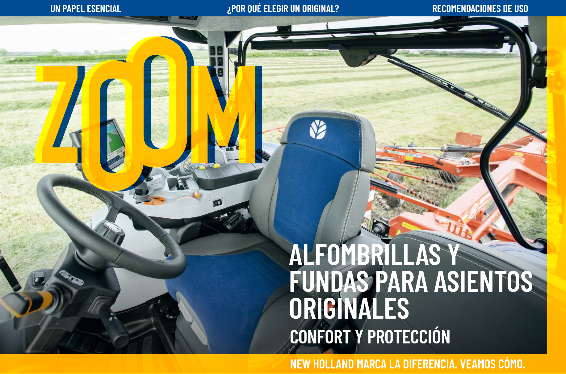 ZOOM - Fundas para asientos y alfombrillas