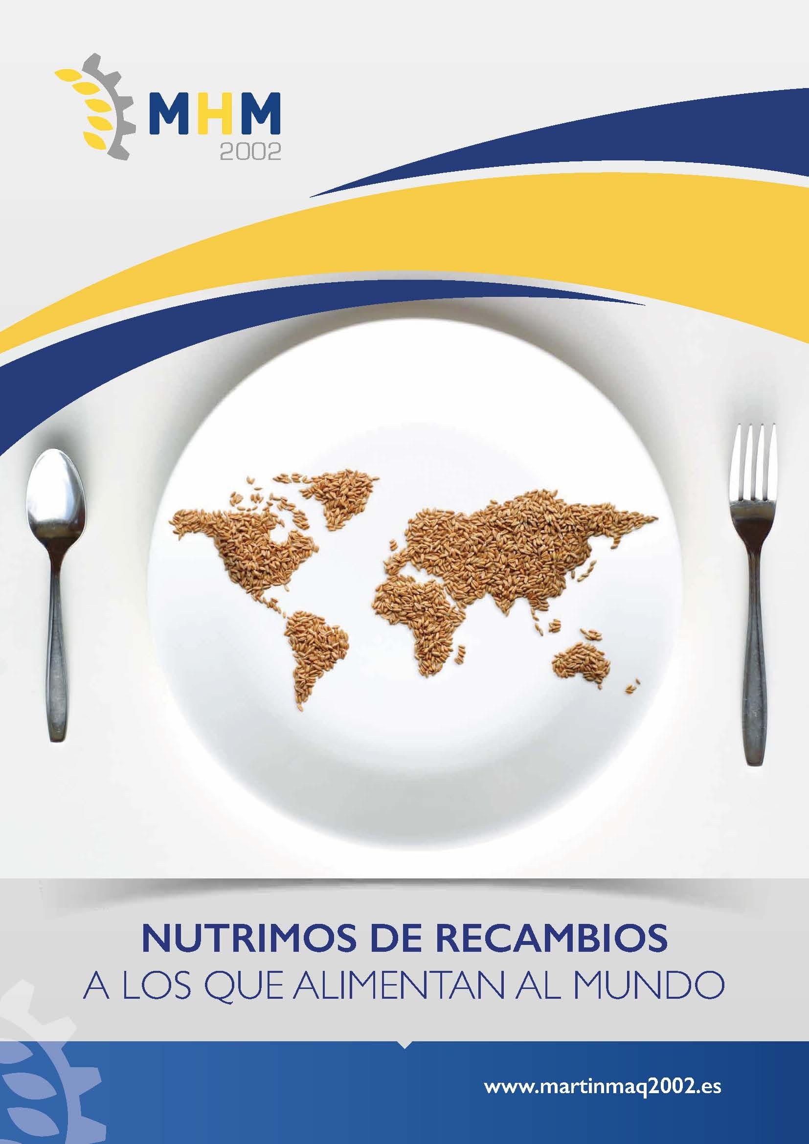NUTRIMOS DE RECAMBIOS A LOS QUE ALIMENTAN AL MUNDO