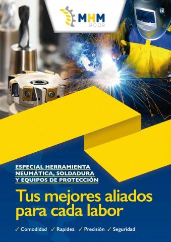 ESPECIAL HERRAMIENTA NEUMÁTICA, SOLDADURA Y EQUIPOS DE PROTECCIÓN