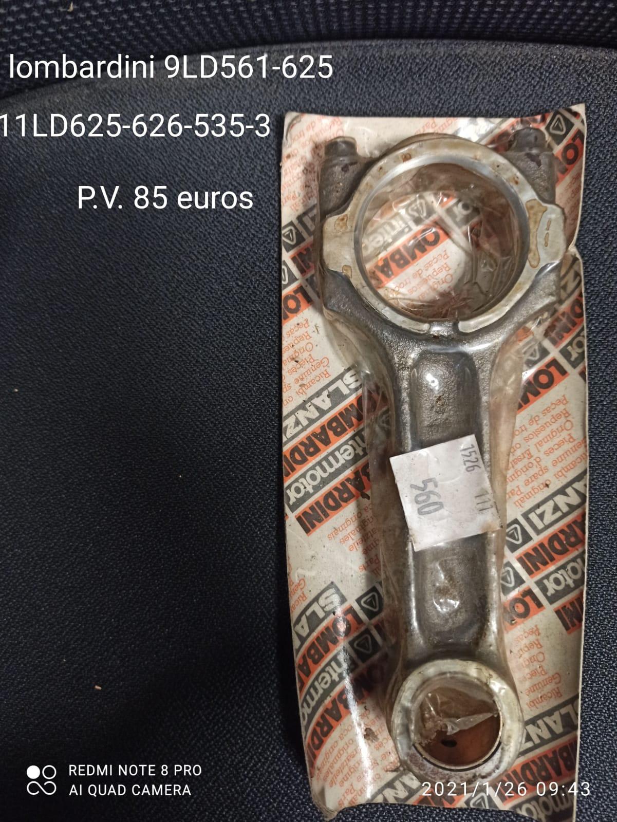 BIELA LOMBARDINI 9LD561-625