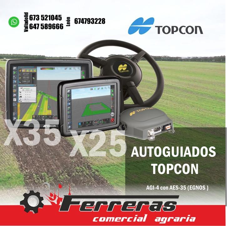 EQUIPOS GPS AUTOGUIADO TOPCON